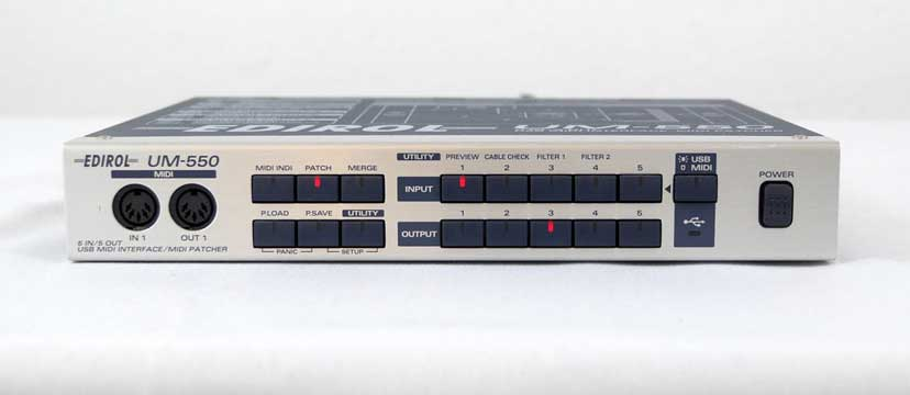 Roland/Edirol UM-550 MIDI-Interface/Patchbay