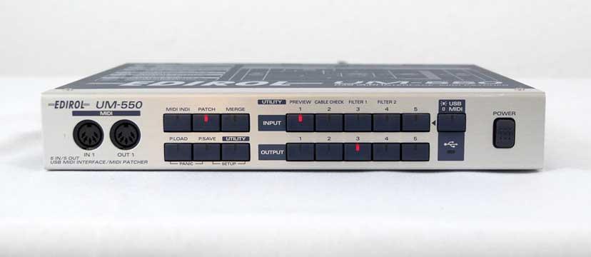Roland/Edirol UM-550 MIDI-Interface/Patchbay