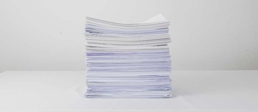 11,9 kg Sitzungsunterlagen