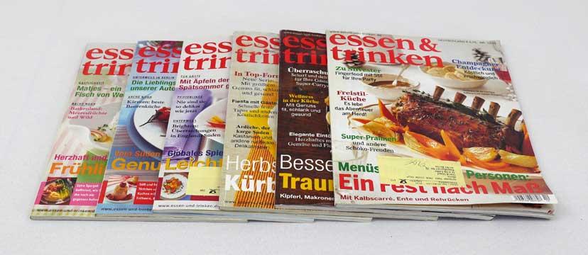Essen & Trinken – 6 Ausgaben aus 2005
