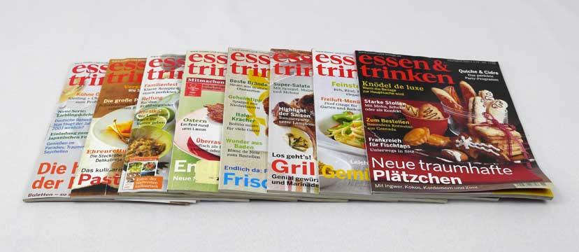 essen & trinken – 8 Ausgaben aus 2006