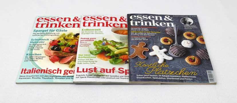 essen & trinken – 3 Ausgaben aus 2008