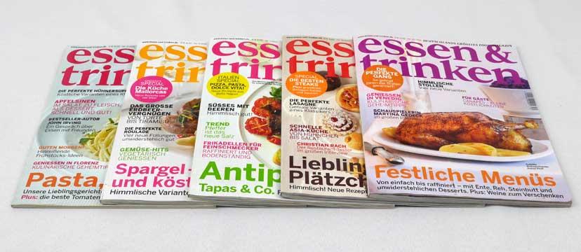 essen & trinken – 5 Ausgaben aus 2011