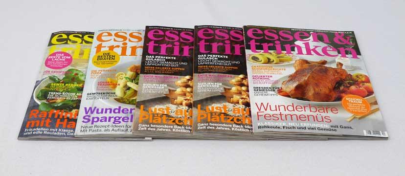 essen & trinken – 5 Ausgaben aus 2012