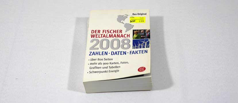 Der Fischer Weltalmanach 2008
